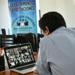 Javier Castro en videoconferencia